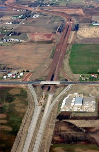 US Hwy 10 construction